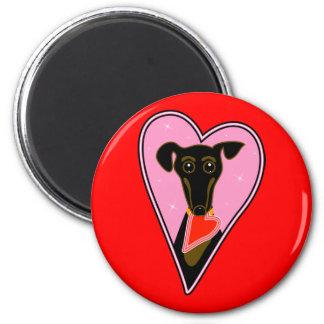 Mi tarjeta del día de San Valentín Imanes