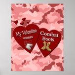 Mi tarjeta del día de San Valentín lleva el poster