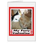 Mi tarjeta del día de San Valentín peluda