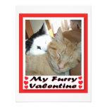 Mi tarjeta del día de San Valentín peluda Anuncios