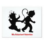 Mi tarjeta del día de San Valentín reacia Anuncio Personalizado