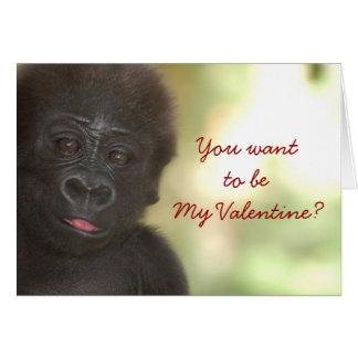 Mi tarjeta especial de la tarjeta del día de San V