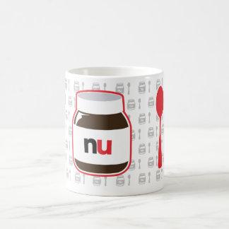 Mi tarro de Nutella Taza Básica Blanca