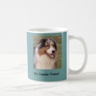 Mi taza australiana de los votos