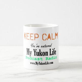 Mi taza chistosa de la vida del Yukón