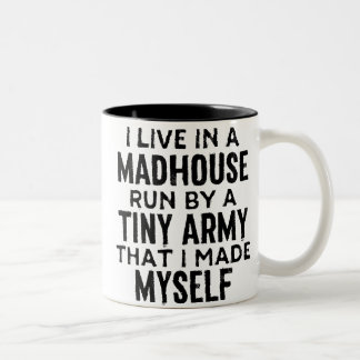 Mi taza de café del manicomio
