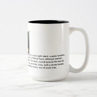 mi taza de café loca de los Cocos