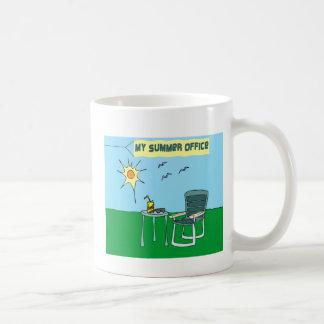 Mi taza de la oficina del verano