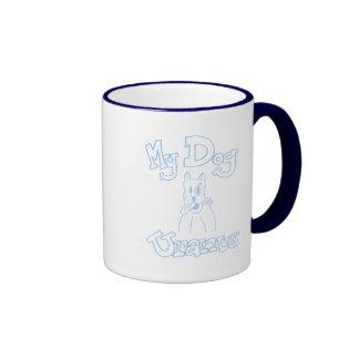 Mi taza de Urano del perro