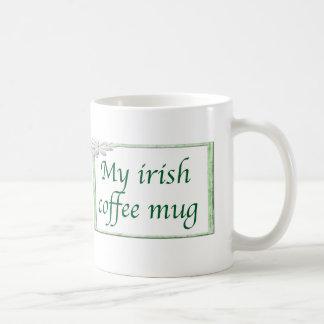 Mi taza del café irlandés