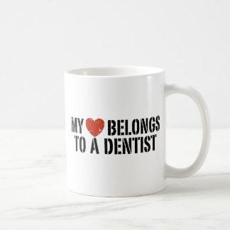 Mi taza del dentista del corazón