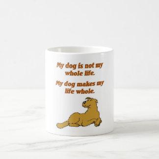 Mi taza del perro