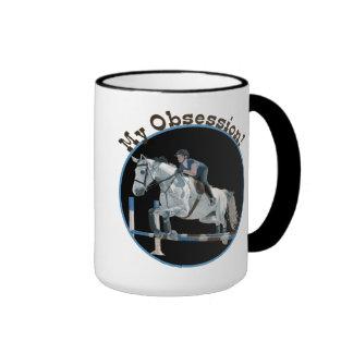 Mi taza del puente del caballo de la obsesión