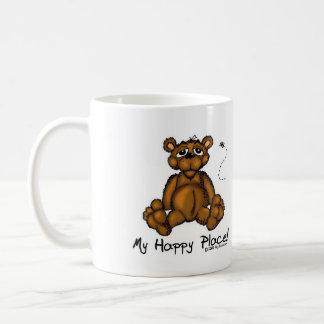 Mi taza feliz del lugar del oso