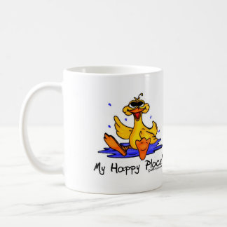 Mi taza feliz del lugar del pato