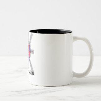 Mi taza gótica del logotipo de los cuentos de