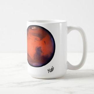 Mi taza ideal de Marte de las vacaciones