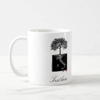 Mi taza italiana de las raíces