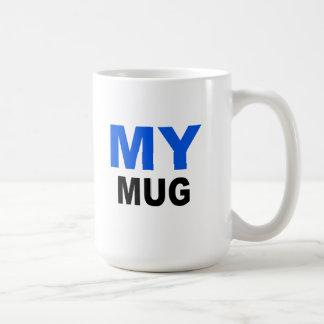 """Mi taza, regalo de la taza. El texto lee, """"MI TAZA"""
