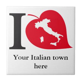 Mi teja italiana de la ciudad