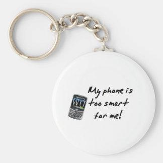 Mi teléfono llavero redondo tipo pin