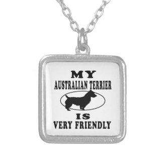 Mi Terrier australiano es muy amistoso Collar