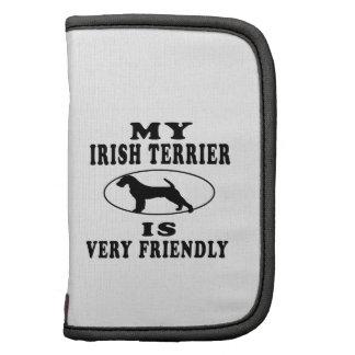Mi Terrier irlandés es muy amistoso Organizadores