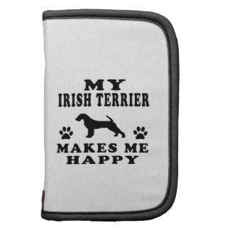 Mi Terrier irlandés me hace feliz Organizadores