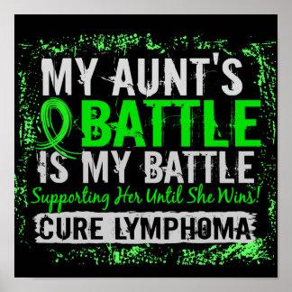 Mi tía del linfoma demasiado 2 de la batalla póster