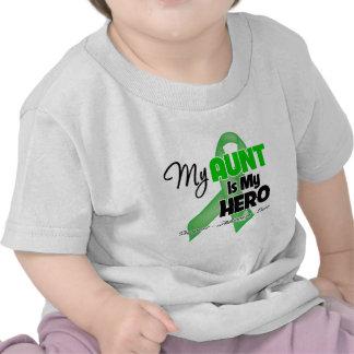 Mi tía es mi héroe - cáncer del riñón camisetas