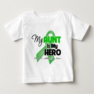 Mi tía es mi héroe - cáncer del riñón t-shirts