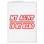Mi tía Is My Hero Felicitaciones