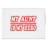 Mi tía Is My Hero Tarjetas
