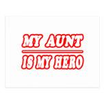 Mi tía Is My Hero Tarjetas Postales