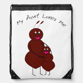 Mi tía Loves Me Ant Mochila