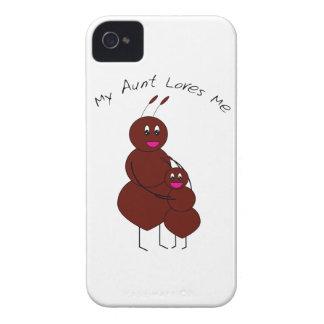 Mi tía Loves Me Case-Mate Case Carcasa Para iPhone 4 De Case-Mate