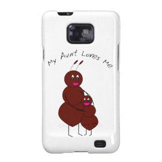 Mi tía Loves Me Case-Mate Case Samsung Galaxy S2 Carcasa