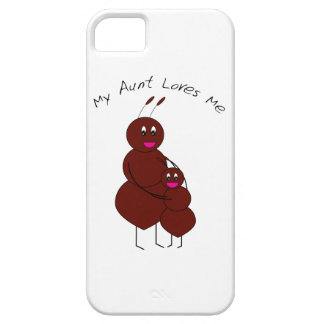 Mi tía Loves Me Case-Mate Case Funda Para iPhone 5 Barely There