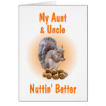 Mi tía y tío tarjetas