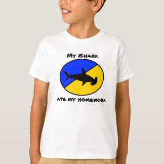 Mi tiburón comió mi preparación playeras