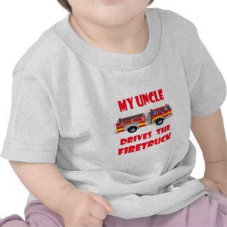 Mi tío Drives el Firetruck Camisetas