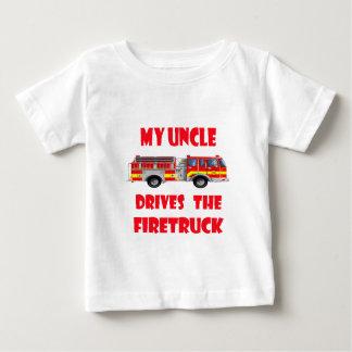 Mi tío Drives el Firetruck Remeras