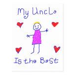 Mi tío es el mejor postal