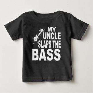 Mi tío Slaps The Bass Playeras