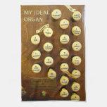 Mi toalla ideal del órgano