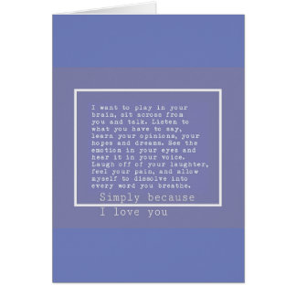 Mi todo tarjeta de felicitación