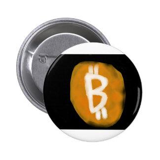 Mi toma en el logotipo de Bitcoin Pin Redondo 5 Cm