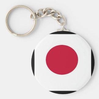Mi toma en llavero japonés de la bandera