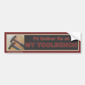 Mi Toolbench Etiqueta De Parachoque