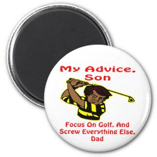 Mi tornillo del hijo del consejo todo imán redondo 5 cm